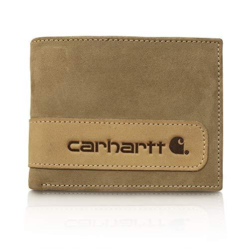 Carhartt Two-Tone Billfold Wing Wallet Geldbeutel 61-2204BRN, braun, 61-2204