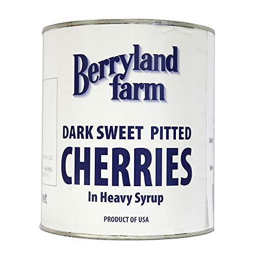 【 業務用 】 Berrylandfarm (ベリーランドファーム) ダークスイートチェリー 1号缶 さくらんぼ チェリー