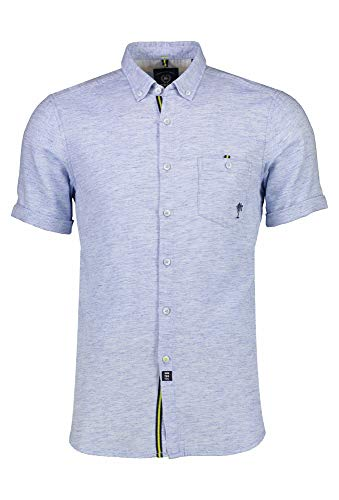 LERROS Kurzarm Hemd blau,XL