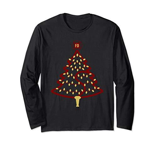 Feuerwehr Weihnachtsbaum Langarmshirt