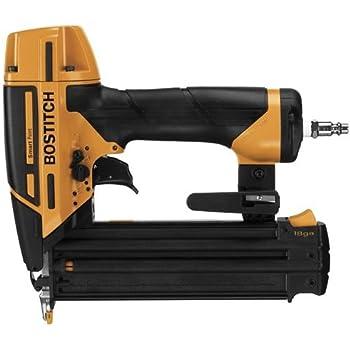 BOSTITCH Nail Gun, Brad Nailer, Smart Point, 18GA  (BTFP12233)