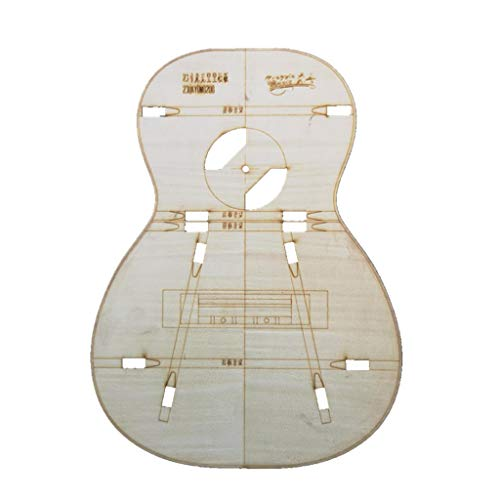 23 Zoll Holz Mini Gitarre Körper Vorlage für Gitarre Ukulele Making, Gitarrenbauer Werkzeug