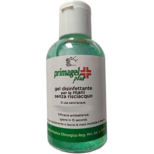 Kit 4 Flaconi Gel Disinfettante Mani Senza Risciacquo Igienizzante Mano Portatile 4x50ml