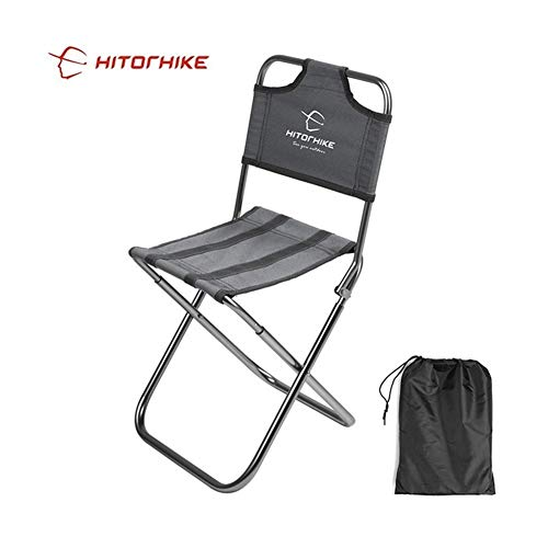 Außenangelstuhl Aluminiumlegierung Klapp Trompete Stuhl Camping Stuhl Stuhl Angeln Stuhl Gartenstuhl robust und langlebig Metall leicht und einfach leicht zu falten zu transportieren und Platz sparend