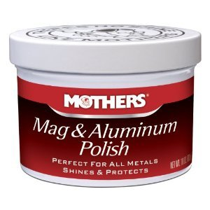 MOTHERS Mag & Aluminium Metal Polish 5oz for most metals **COMPLETE KIT**