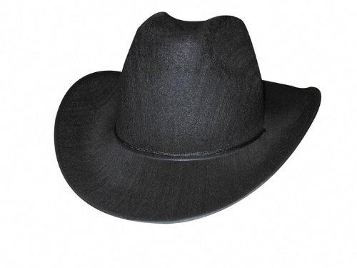 Party Pro Brown Cowboy Hat Chapeau de Cow-Boy, 84302162, Noir