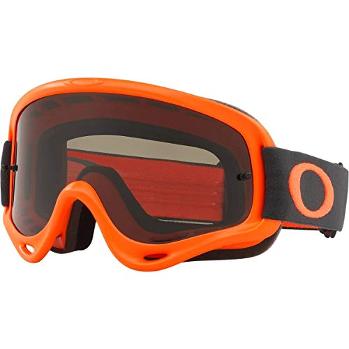 Oakley O Frame MX Adult Off-Road Motorcycle Goggles - Orange Gunmetal/Dark Grey