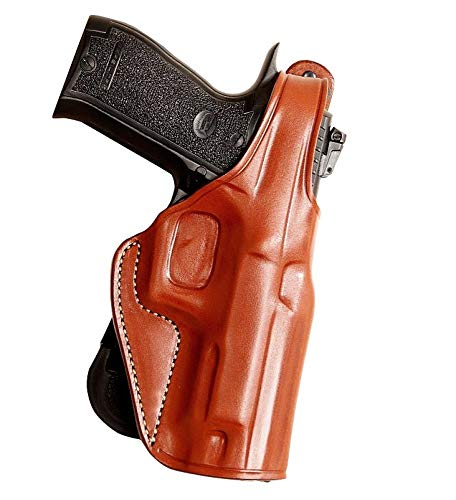 MASC Leather Paddle (OWB) Holster Open TOP R/H Draw Fits H&K...