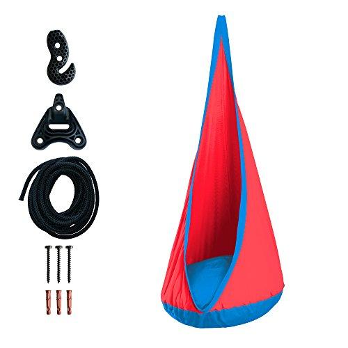 LA SIESTA - Joki Outdoor Spider - Hamaca nido infantil outdoor incluye sujeción universal para hamacas nido