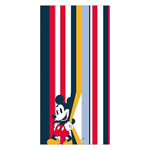Cerdá 2200003989 Toallas de baño Mickey Mouse, Multicolor, 3 (Taglia Produttore: Medium)