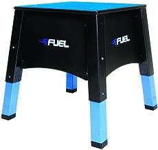 Fuel Pureformance Adjustable Plyometrics Box, blue, black