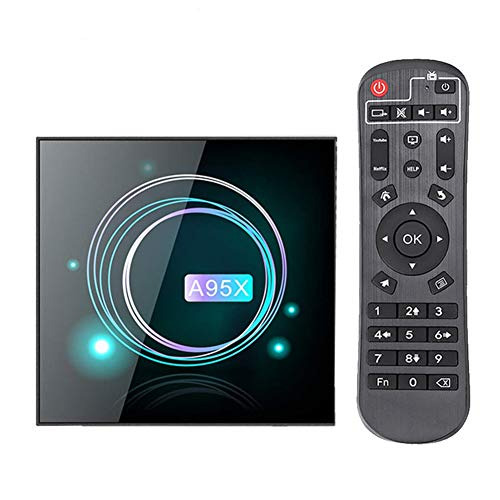 Android 9.0 TV Box, 2GB / 4GB RAM 64GB / 32GB / 16GB ROM Amlogic S905X3 8K 60Fps WiFi Media Playe 8K Smart TV Box, 2.4 Y 5G Dual WiFi,4GB+32GB