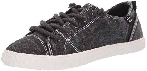 Billabong Women's Marina Canvas Shoes Sneaker, True Black, 8H Medium US