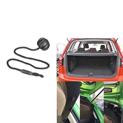 KANGIRU Für Vw Golf 6 GTI R20 Mk5 1K6 863 447 EIN Stamm-Deckel Hutablage String-Holding-Bügel-Seil kleine Kugel Fließheck Hutablagen