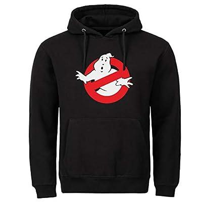Adults Plus Size Ghostbusters Logo Hoodie, 2XL, 3XL