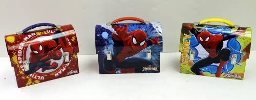 Marvel Workmans Box Spiderman - Ultimate New Ranking integrated 1st place life Metal Spider Tin