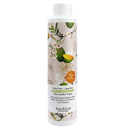 Jean & Len Philosophie Conditioner Nutri Care – Long Hair Mango, Avocado, 300 Ml, 1 Stück
