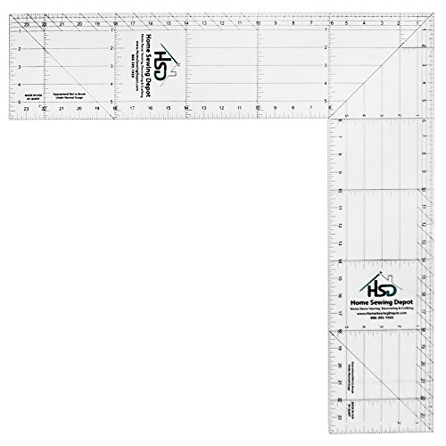 Home Sewing Depot 24 Inch Folding Square Ruler