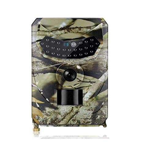 Xegood 12MP Wildkamera 1080P mit 120 °Überwachungswinkel Bewegungserkennung in,940 nm IR-LEDs 15m Nachtsicht,Auslösegeschwindigkeit 1 s Camouflage 2#32G