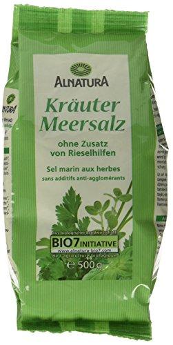 Alnatura Bio Kräutersalz, 6er Pack (6 x 500 g)