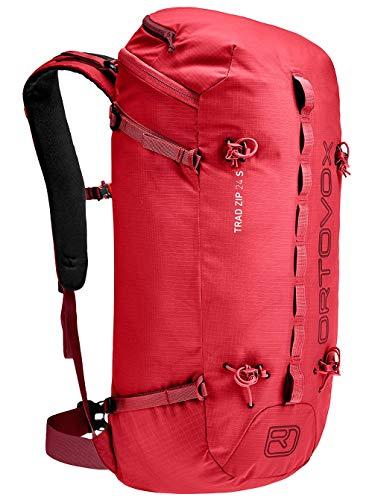 Ortovox Trad Zip 24 S Rucksack, 57 cm, 24 Liter, Hot Coral