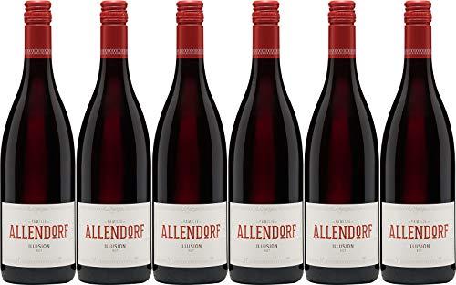 Allendorf Illusion rot VDP.Gutswein 2018 Feinherb (6 x 0.75 l)