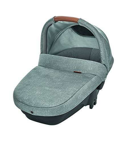 Bébé Confort Bébé Confort Amber Plus 'Nomad Gris' - Cuco de seguridad, 0-6 meses, 10 Kg, color gris - Amber Plus Capazo, Color Nomad Grey