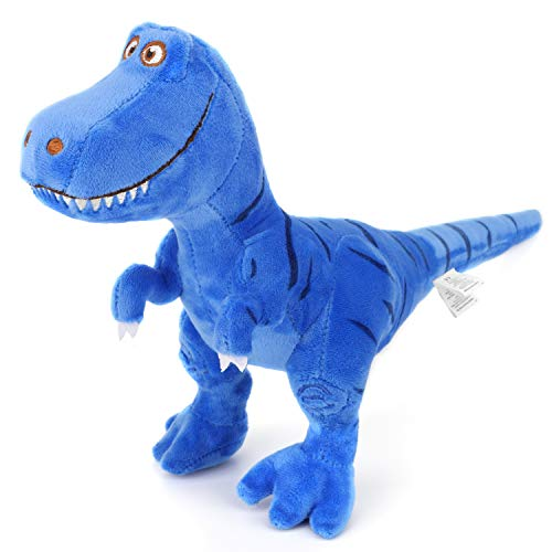 Zooawa Bed Time Stuffed Animal Toys, Cute Soft Plush T-Rex Tyrannosaurus Dinosaur Figure - Blue