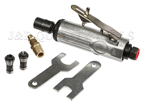 1/4' Mini Compact Air Pneumatic Die Grinder Front Exhaust Polisher Cutting Tool