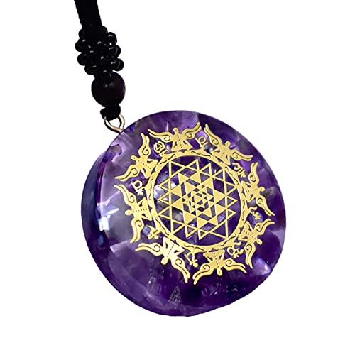 oshhni Orgone Colgante Collar Cristal Accesorio de Joyería Energía Curativa