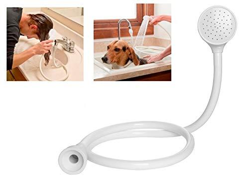 Ducha de lavabo portatil con tubo | Ducha para lavabo | Ducha para animales