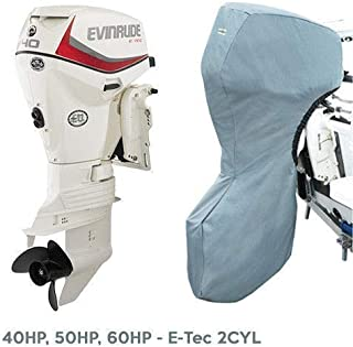 Oceansouth Evinrude Outboard Storage Full Cover E-Tec 2CYL 40HP, 50HP, 60HP 20