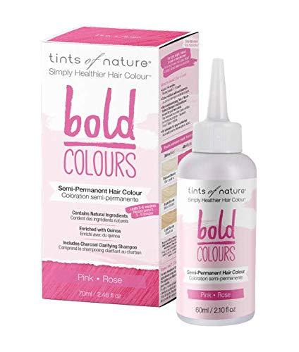Tints of Nature Bold Pink - Semi Permanent Natural Hair Dye, Single