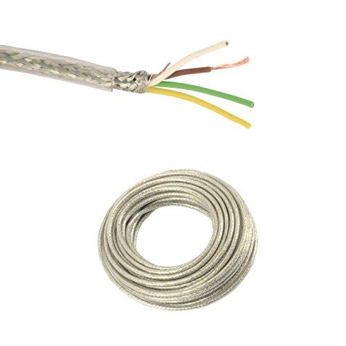 Transparente Steuerleitung LiYCY, 4x0,14 mm², 10 m Ring