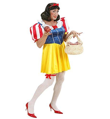 Widmann Costume de Blanche-Neige Drag Queen ? Taille XL