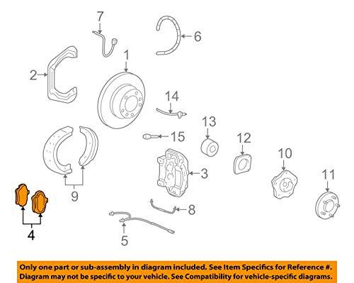 Porsche 997 352 947 02, Disc Brake Pad