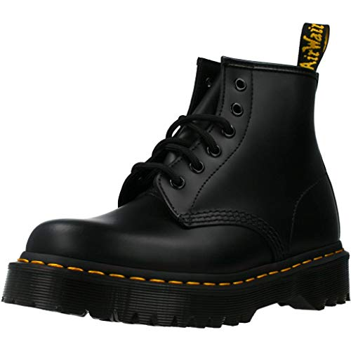 Dr. Martens 6-Eye BEX Smooth Stivali Donna ブラックスムーズ 39 EU