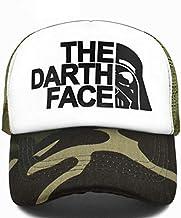 AdronQ Darth Trucker Cap Star Darth Wars Funny Caps Hombres The Darth Face Hat Gorra De Béisbol Cool Summer Mesh Net Cap Hat para Hombres