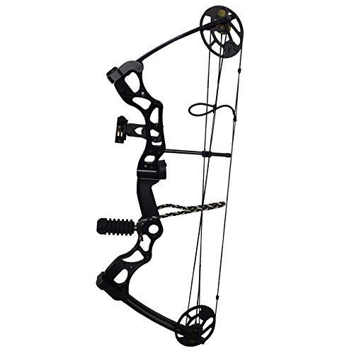 Southland Archery Supply SAS Outrage 70 Lbs 30'' Compound Bow Package (Black with Accessories)