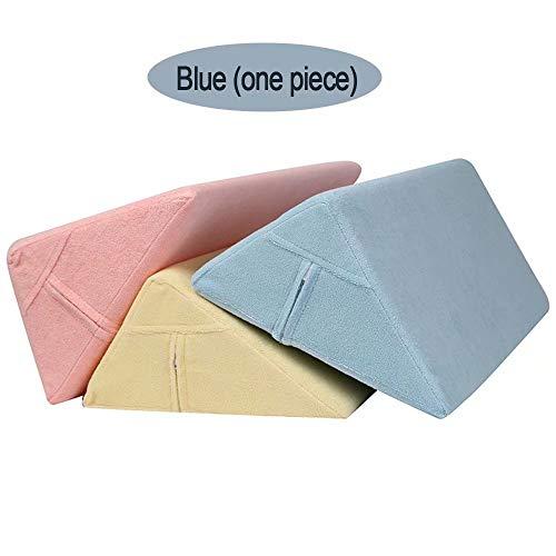 WH- Voltee la Almohadilla de Cuidado del acné triángulo Almohada cojín Lateral Cama Cama Productos para el Cuidado de Ancianos