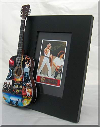 ARTSTUDIO35 Brian May Miniatura Marco de la Guitarra Imagen Queen Mercury