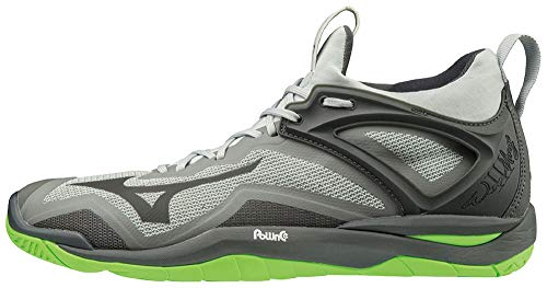Mizuno Unisex Wave Mirage 3 Handballschuhe, Blk Monument Darkshadow, 45 EU