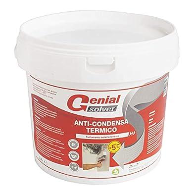 Foto di Genial Solver Anti-Condensa Termico - Pittura ANTIMUFFA per Interni Bianca - 2.5 L