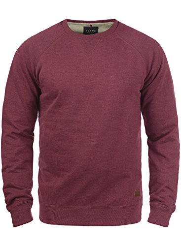 BLEND Alex 20701680ME Sweatshirt, Größe:L;Farbe:Zinfandel (73006)