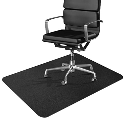 """Office Chair Mat, 2021 Upgraded Office Desk Chair Mat for Hardwood Floor, 36"""" x 48"""" Hard Floor Protector Mat, Anti-Slip, Non-Curve, Multi-Purpose Chair Carpet for Rolling Chair and Computer Desk"""