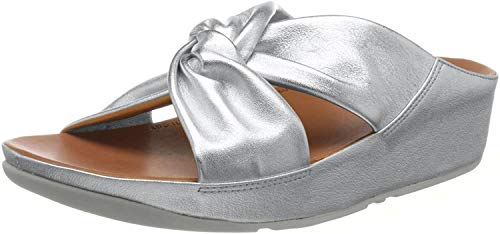 Fitflop Fitflop TWISS SLIDE - SILVER (size: 37) SILVER 37