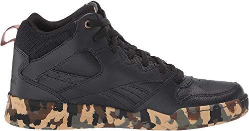 Reebok Men's Royal Bb4500 Hi2 Basketball Shoe, Black/Black/Camo, 12.5 M US
