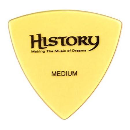 HISTORY HP1M MIDIUM ピック 30枚セット おにぎり(トライアングル)型 (ヒストリー)