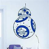 Suuyar Star Wars Bb-8 Stickers Muraux Décor À La Maison Film Robot Diy 3D Vinyle Sticker...