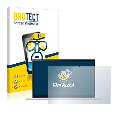 BROTECT Schutzfolie kompatibel mit Asus Chromebook Flip C433 2-in-1 klare Bildschirmschutz-Folie